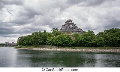 castel, défaillance, okayama, long, temps, japon, exposition