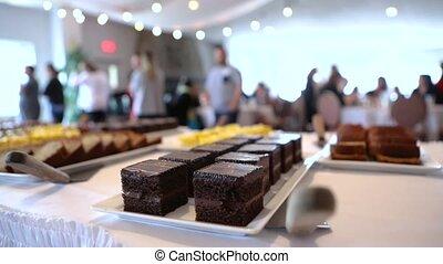 catering., constitué, événement, professionnel