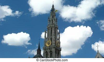 cathédrale, défaillance, temps