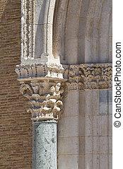 cathédrale, italy., lucera., puglia., basilica.