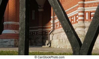 cathédrale, moscou, basil's, rue