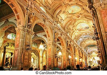 cathédrale, santiago, chili