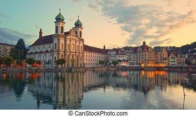 cathédrale, suisse, luzerne
