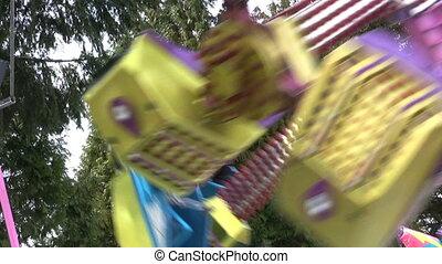 cavalcade, coloré, carnaval