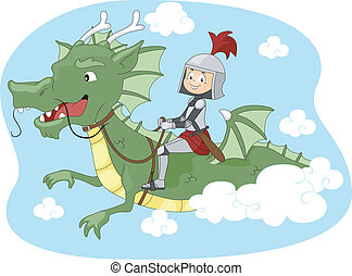 cavalcade, dragon