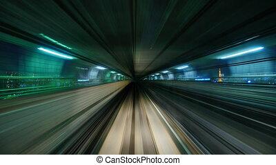 cavalcade, train, monorail