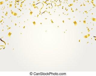 celebration., or, confetti