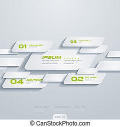 cells., template:, concept., créatif, vecteur, en mouvement, infographics, conception