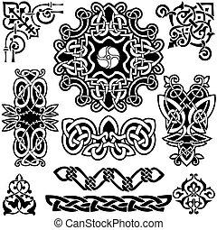 celtique, vecteur, art-collection.