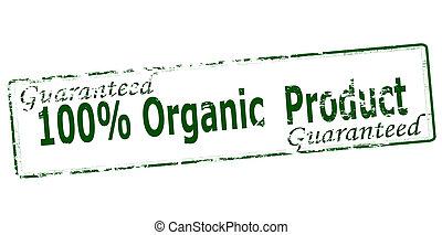 cent, organique, produit, cent