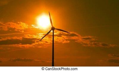 centrale électrique, vent