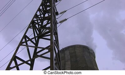 centrale électrique, vue