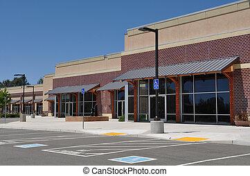 centre commercial, centre commercial, bande