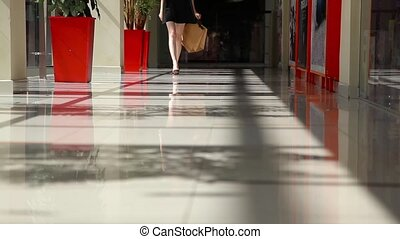 centre commercial, girl