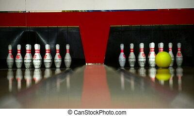 centre, loisir, bowling