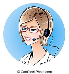 centre, operator., appeler