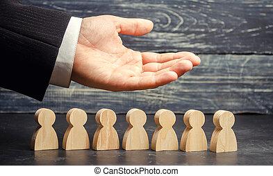 (ceo), segmentation, team., soin, homme affaires, resources., employees., union., fonctionnement, éditorial, main-d'œuvre, emploi, représente, vie, staff., commercialisation, humain, concepts., agencies., insurance.