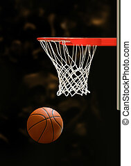 cerceau, basket-ball