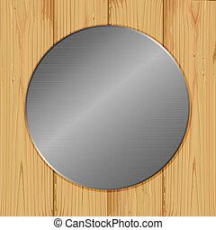 cercle, bois