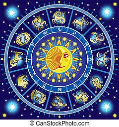 cercle, horoscope