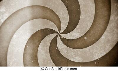 cercle, retro, hypno