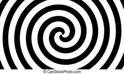 cercle, (seamless, loop), hypno