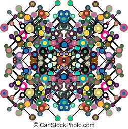 cercles, lignes