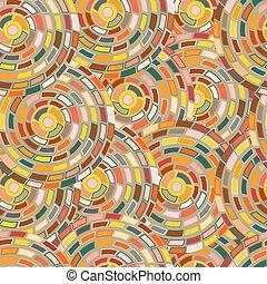 cercles, modèle, kaléidoscope
