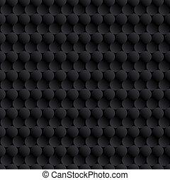 cercles, résumé, arrière-plan noir