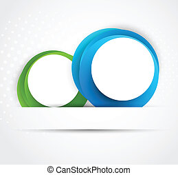 cercles, résumé, fond