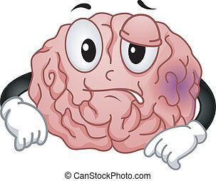 cerveau, mascotte