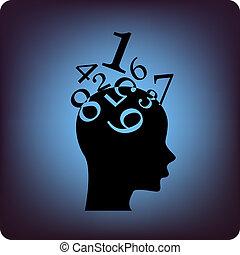 cerveau, math