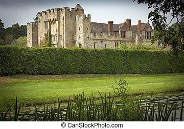 château, anglaise, raisons
