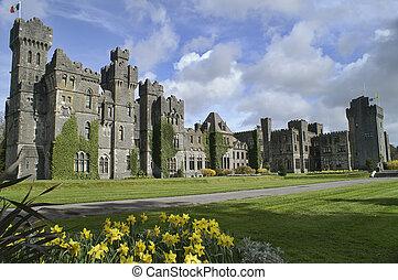 château ashford, comté, ireland., mayonnaise, célèbre
