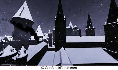 château, halloween
