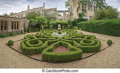 château, jardin, sudeley