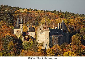 château, rochepot