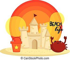 château sable