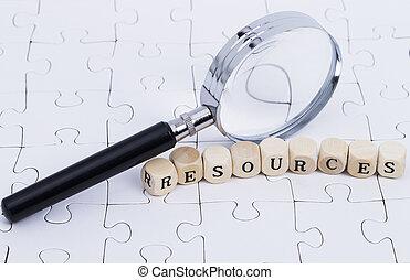 chèque, ressources