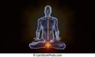 chackras, éclaircissement, yoga