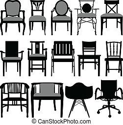 chaise, conception