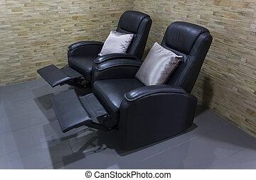 chaise, reposer, masage