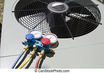 chaleur, pompe, entretien