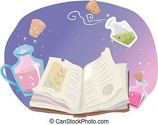 chaman, capricieux, livre