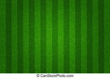 champ, fond, vert, football, herbe