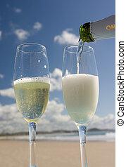 champagne, bea