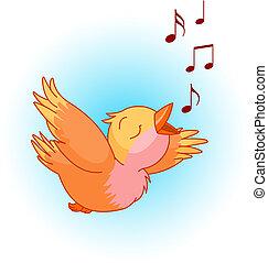 chanson, oiseau