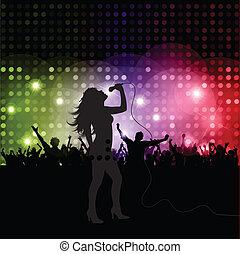 chanteur femelle