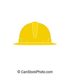 chapeau dur, jaune, fonctionnement