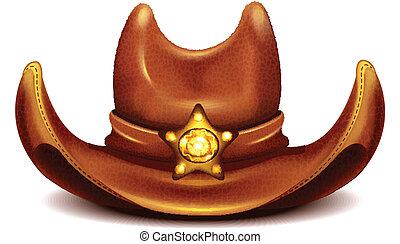 chapeau, shérif